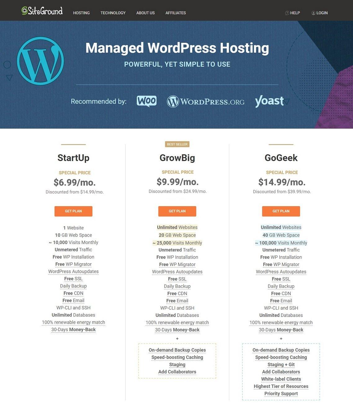 Best Hosting For WordPress - Step 1 v3