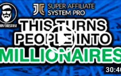 Insider Tour In The Super Affiliate System Pro (Video)